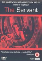 The Servant - British DVD cover (xs thumbnail)