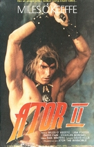 Ator 2 - L'invincibile Orion - Finnish VHS movie cover (xs thumbnail)