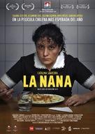 La nana - Chilean Movie Poster (xs thumbnail)