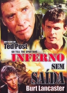 Go Tell the Spartans - Brazilian DVD movie cover (xs thumbnail)
