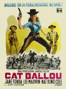 Cat Ballou - Italian Movie Poster (xs thumbnail)