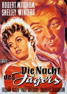 The Night of the Hunter - German Movie Poster (xs thumbnail)