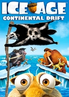Ice Age: Continental Drift - DVD cover (xs thumbnail)