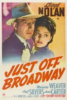 Just Off Broadway - Movie Poster (xs thumbnail)