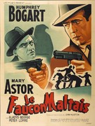 The Maltese Falcon - French Re-release poster (xs thumbnail)