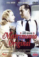 Mr. & Mrs. Smith - Spanish DVD cover (xs thumbnail)
