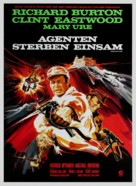 Where Eagles Dare - German Movie Poster (xs thumbnail)