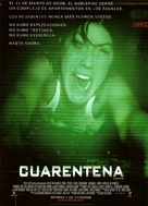 Quarantine - Argentinian Movie Poster (xs thumbnail)