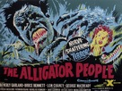 The Alligator People - British Movie Poster (xs thumbnail)
