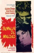 Blackboard Jungle - Spanish Movie Poster (xs thumbnail)
