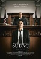 The Judge - Croatian Movie Poster (xs thumbnail)