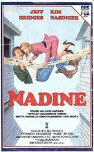 Nadine - Finnish VHS cover (xs thumbnail)
