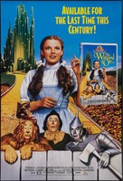 The Wizard of Oz - Video release movie poster (xs thumbnail)