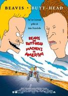 Beavis and Butt-Head Do America - German Movie Poster (xs thumbnail)