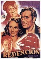 Slave Ship - Spanish Movie Poster (xs thumbnail)