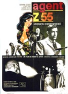 Agente Z 55 missione disperata - French Movie Poster (xs thumbnail)