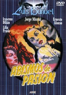 Abismos de pasión - Spanish DVD cover (xs thumbnail)