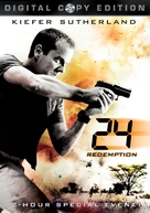 24: Redemption - DVD movie cover (xs thumbnail)