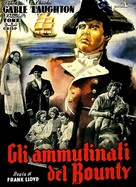 Mutiny on the Bounty - Italian Movie Poster (xs thumbnail)