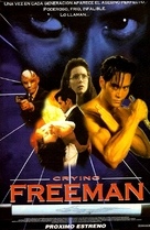 Crying Freeman - Argentinian Movie Poster (xs thumbnail)