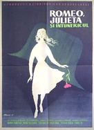Romeo, Julia a tma - Romanian Movie Poster (xs thumbnail)