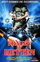 Black Mama, White Mama - German VHS movie cover (xs thumbnail)