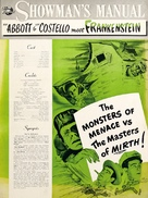 Bud Abbott Lou Costello Meet Frankenstein - poster (xs thumbnail)