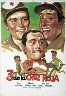 Tres de la Cruz Roja - Spanish Movie Cover (xs thumbnail)