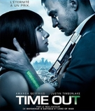 In Time - French Blu-Ray movie cover (xs thumbnail)