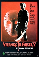 Friday the 13th: A New Beginning - Spanish Movie Poster (xs thumbnail)