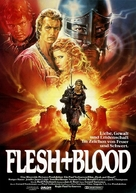 Flesh And Blood - German Movie Poster (xs thumbnail)