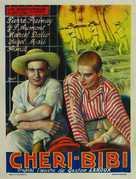 Chéri-Bibi - Belgian Movie Poster (xs thumbnail)