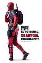 Deadpool - Spanish Movie Poster (xs thumbnail)