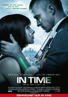 In Time - German Movie Poster (xs thumbnail)