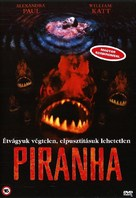Piranha - Hungarian DVD cover (xs thumbnail)