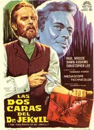 The Two Faces of Dr. Jekyll - Spanish Movie Poster (xs thumbnail)