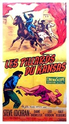 Quantrill's Raiders - French Movie Poster (xs thumbnail)