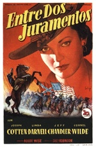 Two Flags West - Spanish Movie Poster (xs thumbnail)
