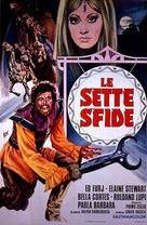 Le sette sfide - Italian Movie Poster (xs thumbnail)