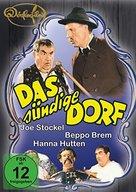 Das sündige Dorf - German Movie Cover (xs thumbnail)