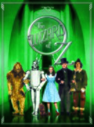 The Wizard of Oz - Danish DVD cover (xs thumbnail)