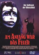 La guerre du feu - German DVD cover (xs thumbnail)