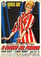 The Pajama Game - Italian Movie Poster (xs thumbnail)