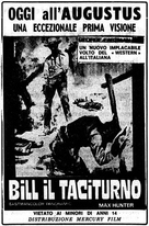 Bill il taciturno - Italian Movie Poster (xs thumbnail)