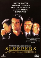 Sleepers - Brazilian DVD cover (xs thumbnail)