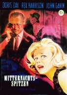 Midnight Lace - German Movie Poster (xs thumbnail)