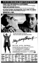 Say Anything... - poster (xs thumbnail)