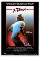 Footloose - Spanish Movie Poster (xs thumbnail)