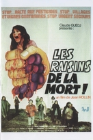 Les raisins de la mort - French Movie Poster (xs thumbnail)
