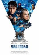 Valerian and the City of a Thousand Planets - Polish Movie Poster (xs thumbnail)